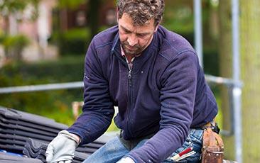 dakwerker inschakelen Schoten
